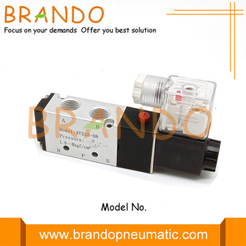 "AirTAC Type 4V210-08 1/4 ""5/2 Way Pneumatic Valve"