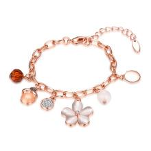 Heißes Verkaufs-Goldarmband-Rosen-Gold überzogenes Frauen-Armband