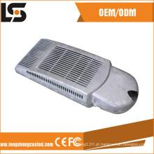 Morre carcaça da lâmpada da luz de rua do diodo emissor de luz de 30 W