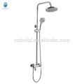 KDS-04 china price quality warranty solid brass shower head set, modern chrome finished bathroom fitting shower head set