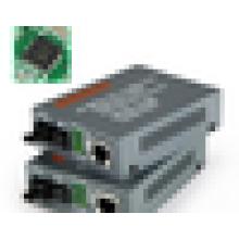 10 / 100M 1310 / 1550nm Одномодовый оптический волоконно-оптический WDM 25км на RJ45 Media Converter