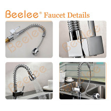 Upc Kitchen Faucet Rotatable Jet Pull out Spring Kitchen Sink Faucet