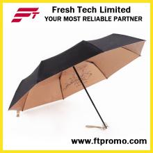 Elegante, guarda-chuva de dobramento Manual Open