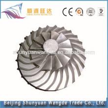 China fábrica de titânio liga de fabricação de peças de fundição