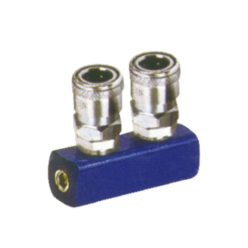 pipe fitting quick fitting metal coupler 2 way ML-2 fitting