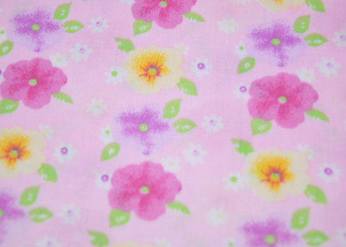 Cotton Voile Printed Fabric