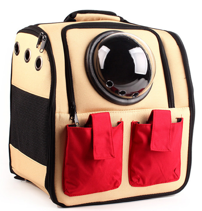 Astronaut Capsule Window Pet Backpack