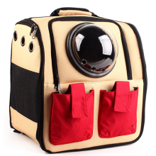 Astronaut Capsule Window Pet Mochila