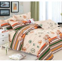 100% хлопчатобумажная ткань 4 комплекта постельных принадлежностей PCS с дизайном одежды