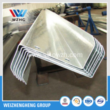 C Lipped Channel Galvanized Steel Z Purlins