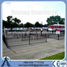 Hot dip galvanized temporary swimming pool fence