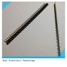 Encabeçamento do Pin da fileira do passo de 40 Pin 2.54mm único