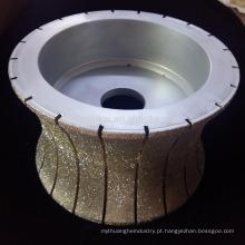 ferramentas abrasivas de diamante galvanizado disco de corte de pedra