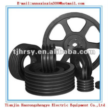 Black coating V-belt pulley SPA SPB SPC SPZ