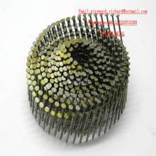 Assegas de bobina de solda mais baratas com palheta de madeira / pistola de unha de bobina