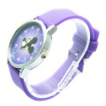 Low cost silicone classic watch for unisex