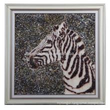 Wholesale Handmade Shell Arts Horse Head Shape Wall Picture