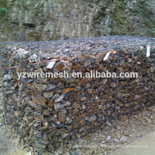 Hebei factory high quality galvanized welded gabion wire mesh alibaba China