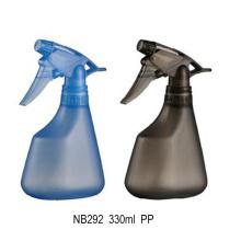 Atacado garrafa de spray de disparo limpo plástico 330ml (nb292)