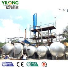 Fluxograma do projeto da torre de destilação de petróleo bruto