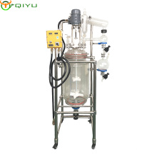 China Professional manufactory 50L Jacketed Glass manufacture Reactor
