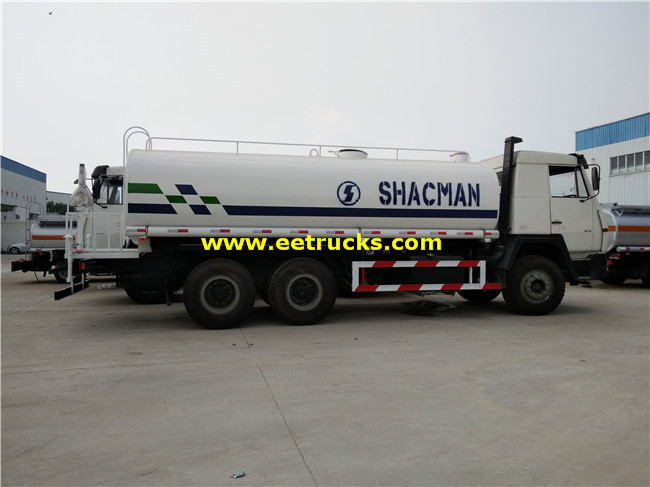 SHACMAN Water Wagon Trucks