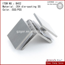 B402 weldable glass clamps/Glass Transom Clamp