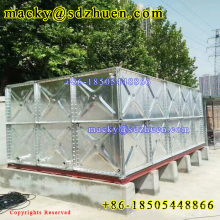 Popular 50000gallon cheaper  hot galvanized steel water storage tank for agriculture