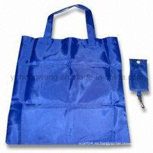 Bolso de compras con cordón plegable barato