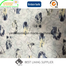 2016 Fashion 100% Polyester Print Lining with High Quality