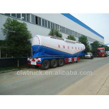 Cisterna de descarga de ar 60m3 para transportar semi-reboque de cimento em massa