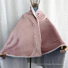Cobertor de xale de lã da casa