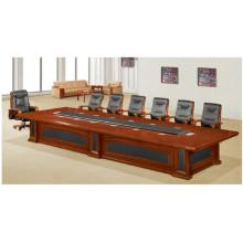 Bureau de conférence en bois de salle de livraison rapide (FOH-H8002)