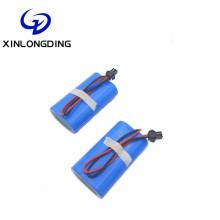 XLD Deep cycle 2S1P rechargeable 18650 7.4v battery backup lighting system battery pack 7.4v 2000mah