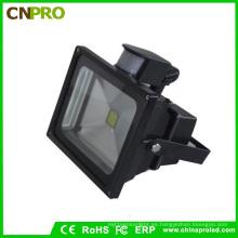 Detector de sensor de movimiento PIR de seguridad al aire libre Proyector de LED de 20W