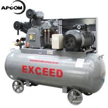 High Pressure APCOM 50 CFM 145 psi 1000L/min HW15012 40CFM 12bar with 500L tank 11kw 15hp piston air compressor