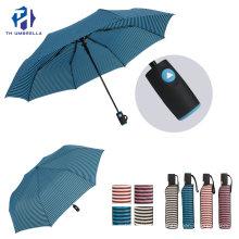 3 Folding Auto Open Outdoor Umbrella for Lady/Fashion Simple Style Rain Umbrella