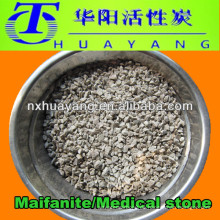 Medizinische Steinfiltermedien für die Wasseraufbereitung / Maifanit