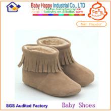 Venda por atacado 2014 moda confortável bebê sapatos calças inverno