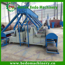 China alta elogiou madeira máquina de imprensa de briquete de serragem / máquina extrusora