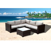 Modern Rattan Garden Corner Sofa Set Designs