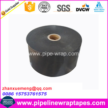 Underground pipe wrap tape for corrosion protection