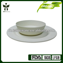 modern cheap bamboo fiber tableware set