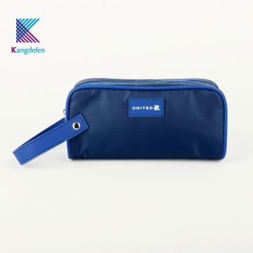 Bolsa de cosméticos impermeável para viagem com logotipo