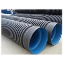 Tubo ondulado de parede dupla de PEAD de textura lisa para fornecimento de água com vida útil mais longa