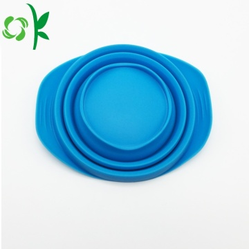 Food-grade Dilipat Portable Silicone Pet Dog Food Bowl