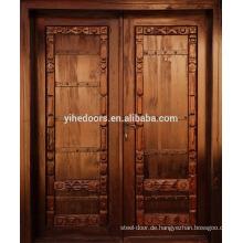 Holzfeuertür als Mahagoni-Holz-Eingangstür und Holzaußentürbilder
