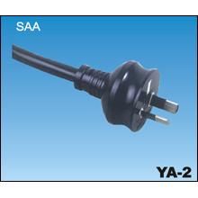 Los cables de alimentación de CA de SAA australiana