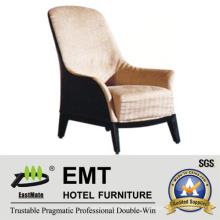 Sofá cómodo del hotel de la silla del sofá del ocio (EMT-SC02)