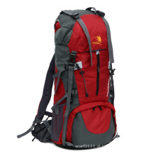 Alta qualidade 70l nylon impermeável ao ar livre saco mochila de campismo (yky7299)